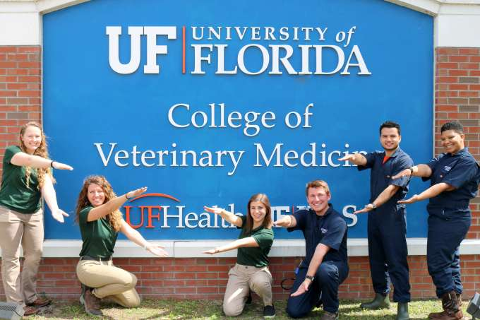 Florida CVM Students