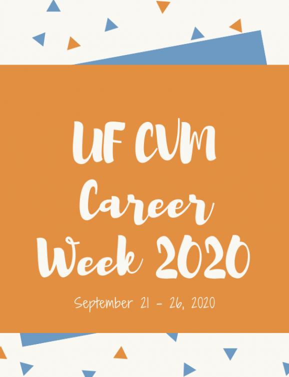 UF CVM Career Week Logo